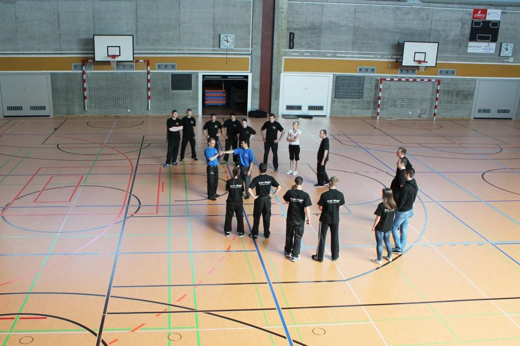 3. KMS Techniker-Kurs in Glarus, Hebel-Techniken