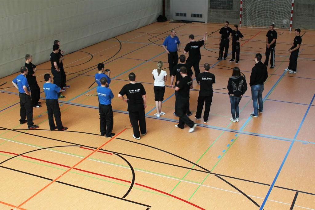 3. KMS Techniker-Kurs in Glarus, Abwehr Stock