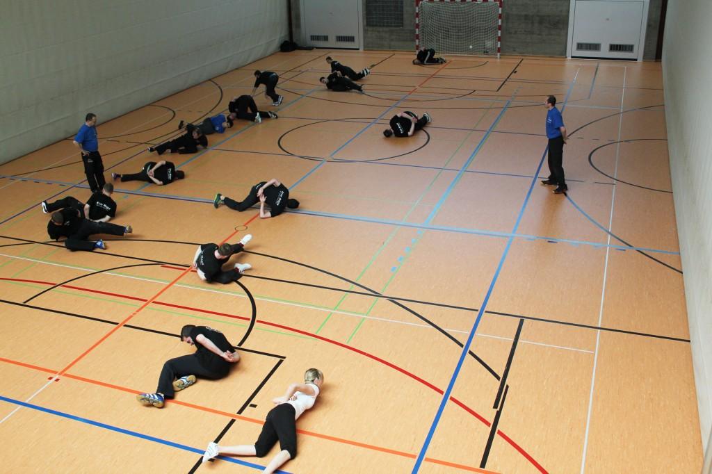 3. KMS Techniker-Kurs in Glarus, Kondition und Drill