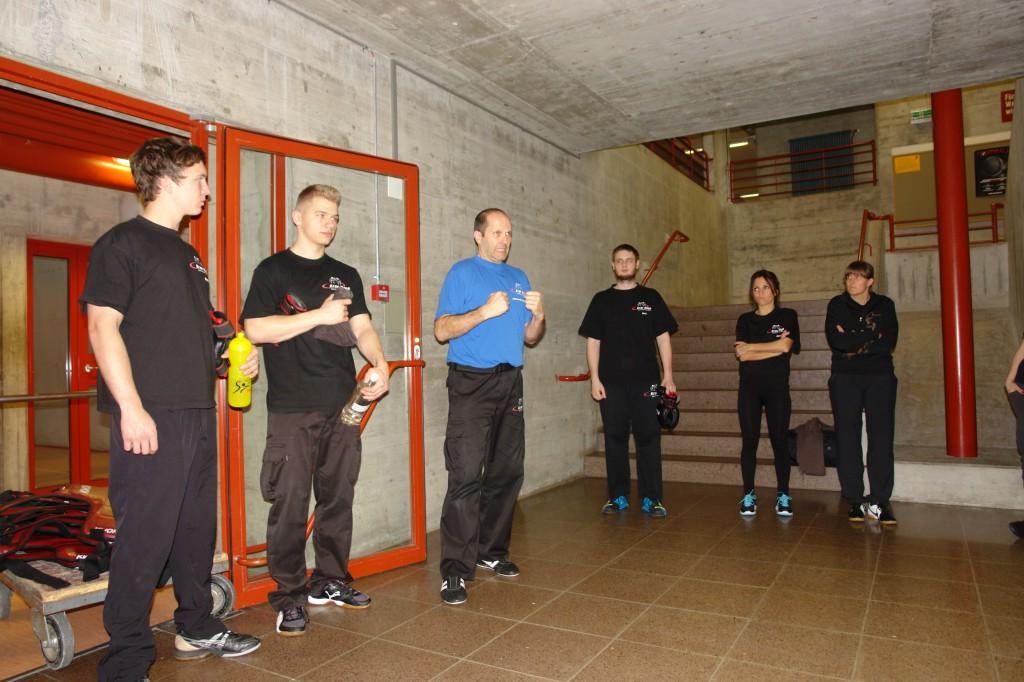KMS Krav Maga Linth Stressparcours 2014